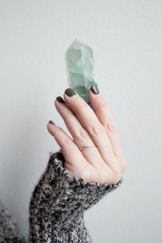 kristallen stenen